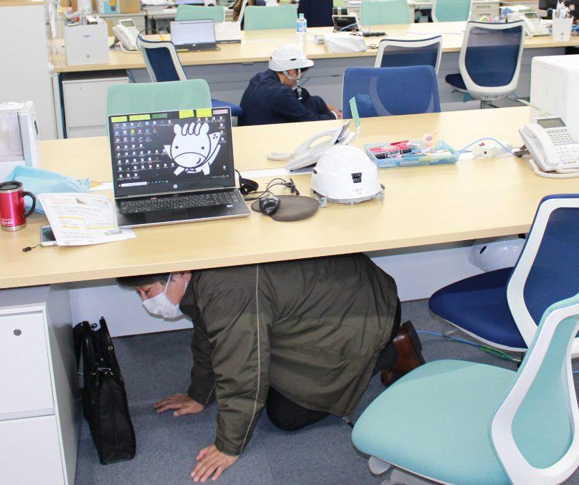 神戸本社で防災訓練を実施