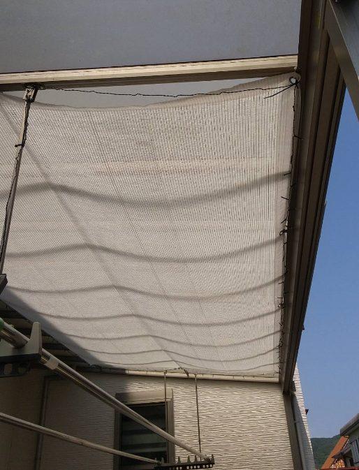 猛暑対策に、小泉製麻㈱の新商品「バロンスクリーンホワイト涼風(すずかぜ)」で快適な夏を彡